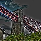 Section of The Forth Bridge by Kirsty Auld
