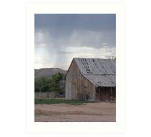 Old Barn on Highway 89 Art Print