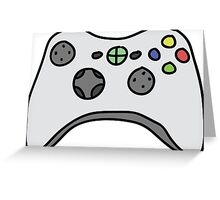 Games Controller Greeting Card