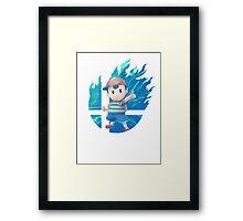 Smash Hype - Ness Framed Print
