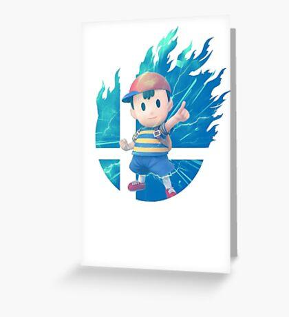 Smash Hype - Ness Greeting Card