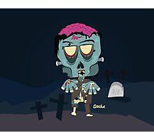 Frank the Zombie Photographic Print