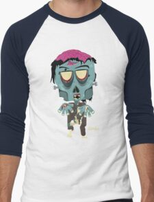 Frank the Zombie Men's Baseball ¾ T-Shirt