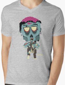 Frank the Zombie Mens V-Neck T-Shirt
