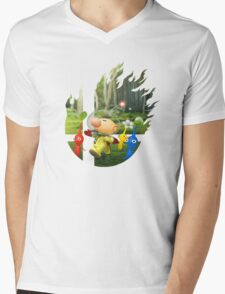 Smash Hype - Olimar Mens V-Neck T-Shirt