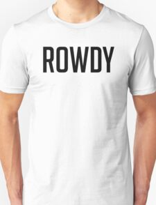 Rowdy Decal T-Shirt