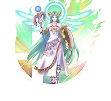 Smash Hype - Palutena by Jp-3