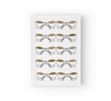 Time for Tea- Teacup & Coffee Cup Print Hardcover Journal
