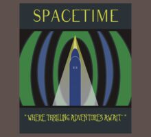 Visit Spacetime - Where Thrilling Adventures Await Kids Clothes