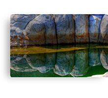 Granite reflections... Canvas Print