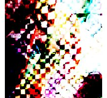 abstract cubed Photographic Print