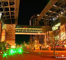 Downtown Phoenix at Night by Chris Dowdy