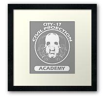 City - 17 Civil Protection Academy Framed Print