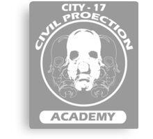 City - 17 Civil Protection Academy Canvas Print
