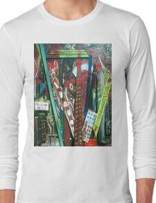 ABSTRACT CITY Long Sleeve T-Shirt