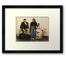 Waiting - 2 Framed Print