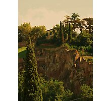 """ Orvieto Hillside"" Photographic Print"
