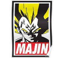 OBEY MAJIN Poster