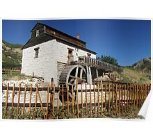"The Gristmill in ""This is the Place Heritage Park"" ~ Salt Lake City, Utah Poster"