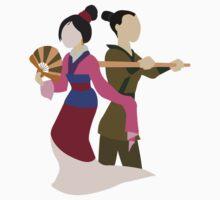 Minimalist Mulan Kids Clothes