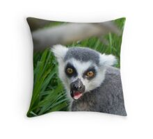 Lemur Attack! Throw Pillow