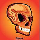 Orange Skull by Essedue Factory