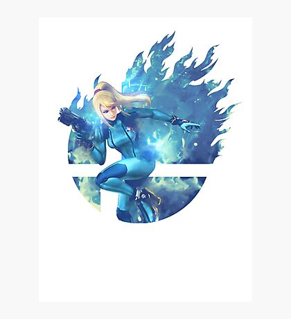 Smash Hype - Zero Suit Samus Photographic Print