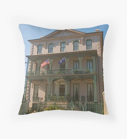 John Rutledge Historic House Inn Throw Pillow