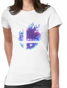 Smash Hype - Blue Womens Fitted T-Shirt