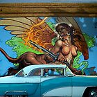 CLASSIC CARS AND MURALS by Larry Butterworth
