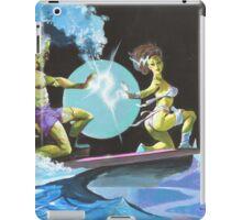 Frankenstein Surfers Tandem Monsters iPad Case/Skin