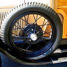 1929 Ford Model A Woodie by Debbie Robbins