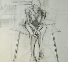 Sitting figure 2 by jail77