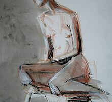 Sitting figure 3 by jail77