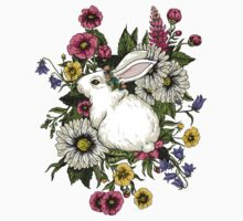 Rabbit in Flowers Kids Clothes