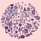 pUrple RandOm by Amy-lee Foley