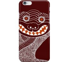Ghost Tiger Juggler with Red Shoes iPhone Case/Skin