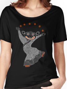 Ghost Tiger Juggler with Red Shoes Women's Relaxed Fit T-Shirt