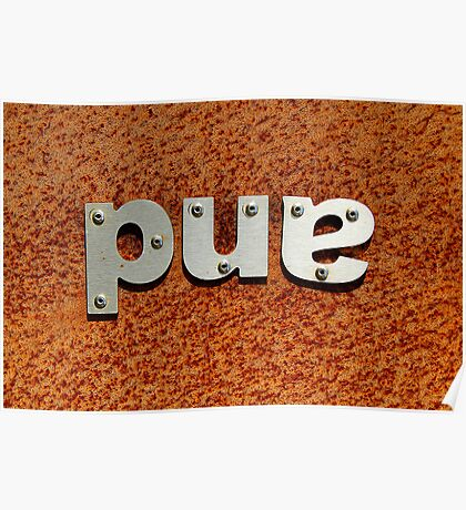 pue Poster