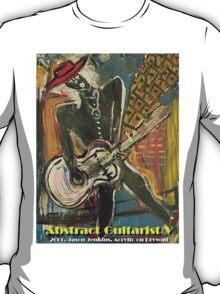 ABSTRACT GUITARIST V T-Shirt