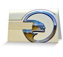 Chief Pontiac Greeting Card