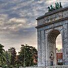 Arco de la Victoria, Madrid - 2 by Prashant Panigrahi
