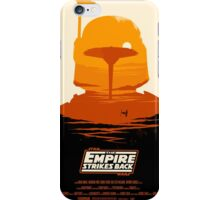 Empire Strikes Back Poster iPhone Case/Skin