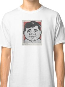 Babe Ruth Caricature Classic T-Shirt