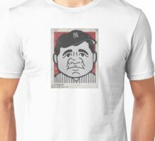 Babe Ruth Caricature Unisex T-Shirt