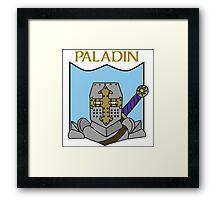 Percy the Paladin Framed Print
