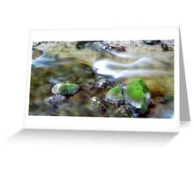 river blur Greeting Card