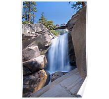 Unnamed Waterfall Between Vernal & Nevada Falls Poster