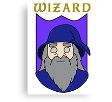 Wulfric the Wizard Canvas Print