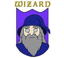 Wulfric the Wizard Photographic Print